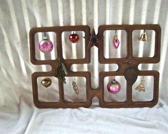 Vintage Redesign Reimagined Leaning Frame Mantle Christmas Decor Hanging Photo Card Ornament Redesign Multipurpose Mantle Shelf Decoration