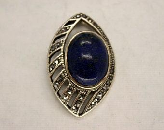 Large Lapis Lazuli Pendant