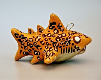Jaguar Shark Christmas Ornament