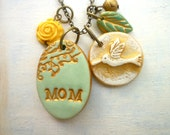 Hummingbird Personalized Necklace, Mother memorial
