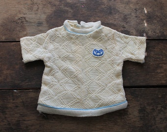 1950s Nannekins Toddler Tennis Sweater