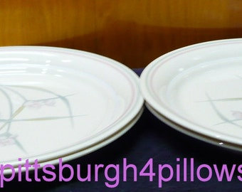 4 - Corelle - Spring Pond - Luncheon Plates - 8 1/2 - EUC - Price Is For All