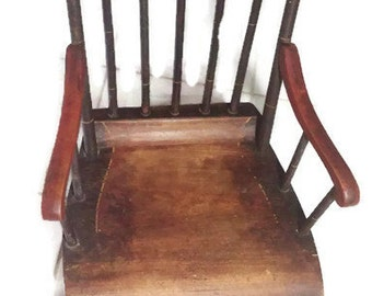 Childs Antique Rocking Chair