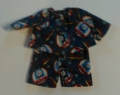 "Waldorf  and Cabbage Patch Boy Doll Clothes Sizes 10"" 12"" Or 15"" Thomas The Train"