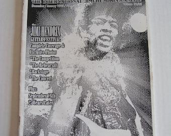 Rare Vintage Jimi Hendrix STRAIGHT AHEAD International Fanzine #81/82 Dec 1995
