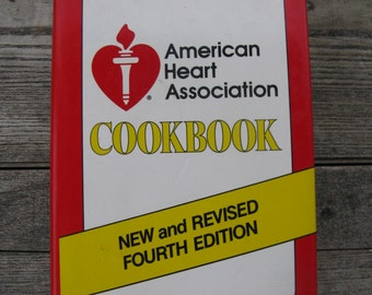 american heart association cookbook 1984 new and revised hardcover dust jacket