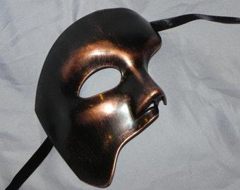 Copper Phantom of the Opera Mask