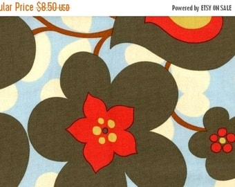 Fall Clearance Amy Butler Fabric - Morning Glory in Linen 1 Yard