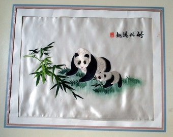 CHINESE EMBROIDERY- PANDA