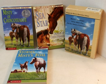 Horseshoe library book set Marguerite Henry chapter books young reader fiction