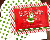 St. Nick Cinema Collection Invitation by Loralee Lewis
