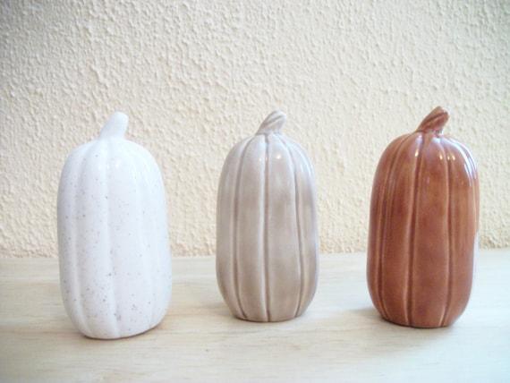 Ceramic Decorative Pumpkins