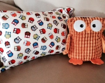 WHOOO Needs Soothing Lavender Dog Pillow and Owl Toy