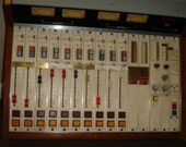 Vintage Wheatstone Professional Ex-Radio Station 10-Channel Broadcsat Sound Mixer Audio Control Board A-20