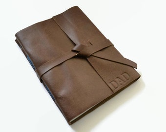 Fathers Day Gift for Dad, Leather Journal, Leather Gift for Him, Personalized Gift for Men, Dad Gift, Father's Day Gift for Husband,