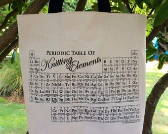 Knitting Project Bag / Knitting Tote / Knitting Bag
