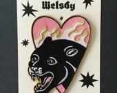 Rachel Welsby Panther Patch