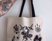 Rachel Welsby - Organic Cotton Tote Bag