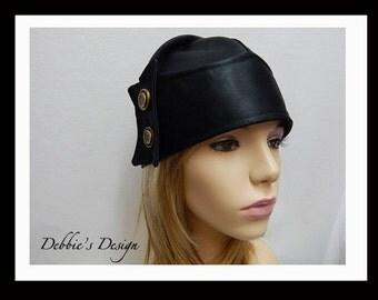 NEW Women's Hat-20 Handmade Women's Hat,  Downton Abbey Style, Flapper Cloche, Warm Winter Hat, Cozy Women's Hat, Handmade in USA
