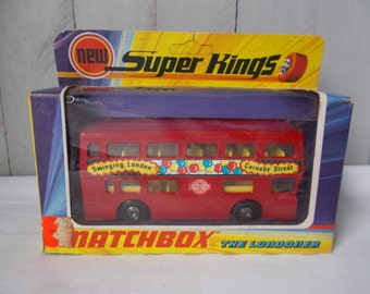 Vintage Matchbox Super Kings Bus 1972