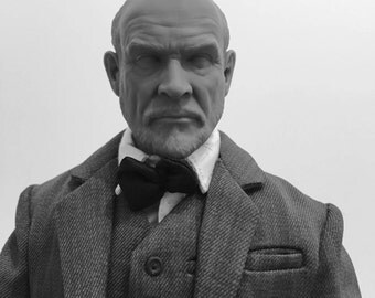 One of a Kind Sean Connery Explorer head 1/6th scale