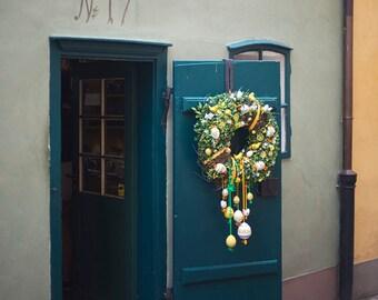Number 17, Golden Lane - Fine Art Photograph, Europe, Wall Art Print, Room Decor, European Travel Photography, Prague, Architecture, Facade