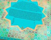 Ketubah - Morocco shimmer...