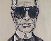 Sale: 50% off Karl Lagerfeld Portrait