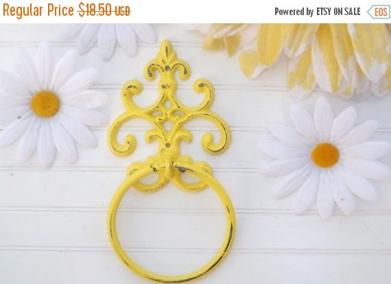 on sale yellow bathroom decor shabby chic by theshabbyshak