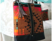 La Natalia Bag - Cross body bag - aztec bag - Classic bag - Aztec handbag - Leather Bag - Travel bag -