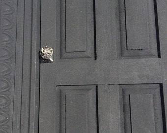 Steampunk door handles Dollhouse Size