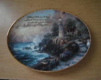 Thomas Kinkade Decorative Plate