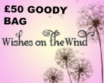 Wishes on the Wind 50 Gift Bag Of Goodies, Mystery Bag of Jewelry