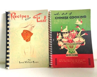 Mid-Century Paperback Cooking Books