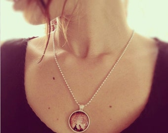 The Fox and The Little Prince Necklace