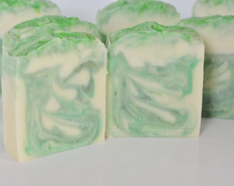 Cucumber Mint Handmade Cold process Soap