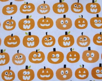 GLOW In The DARK - Halloween Magic - Pumpkins GC4615-WHITE  - Bella Blvd for Riley Blake Designs
