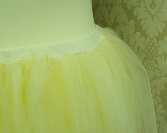 SALE! Ivory Bridal Wedding Tulle Skirt One of a Kind. Ready to Ship.