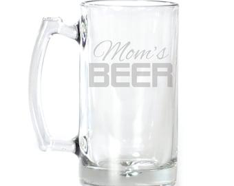 Large Beer Mug - 25 oz. - 2141 Mom's Beer