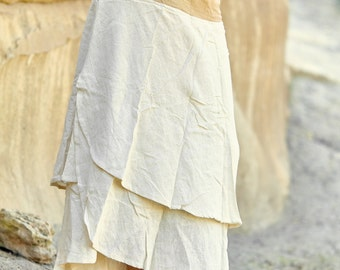 SALE ~ Wrap Skirt ~ Cream ~