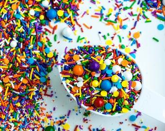 UP AND AWAY Sprinkle Medley, Sprinkle Mix, Rainbow Cake Sprinkles, Primary Sprinkles, Canadian Sprinkles