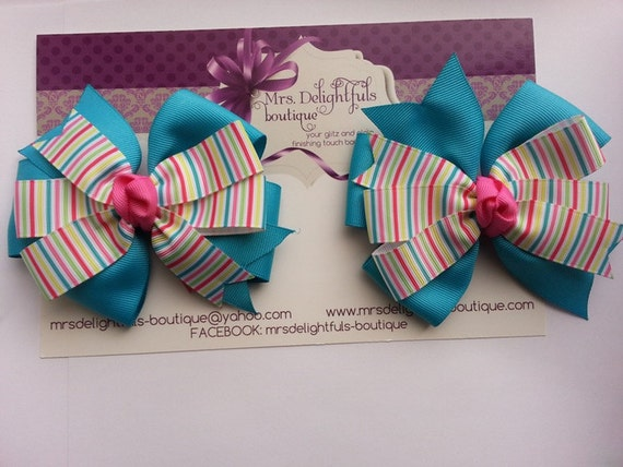 purple boutique bow, Valentine's bow,stacked bow, baby bow, hair bow, accessories, hair clip, heart bow , purple bow, bow, layered bow