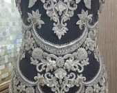 Hand Beaded and Embroidered WEDDING DRESS Bodice In Over 50 Styles - ALLYSON