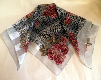 vintage SCARF, Made in ITALY