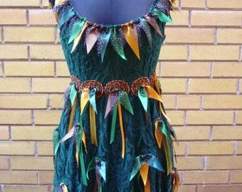 Celtic Tattered Fairy Dress