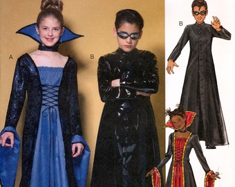 Butterick B4314 Sewing Pattern for Boys' and Girls' Costumes - Uncut - Sizes 7-8-10 or 12-14-16