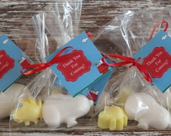 SNOOPY and WOODSTOCK Party Favor Soaps: Peanuts cartoon, Charlie Brown, Birthday Favors, Baby Shower Favors, Charlie Brown Favors