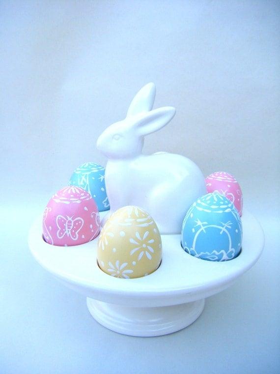 Bunny Rabbit Egg Dish