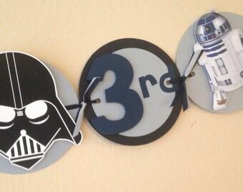 Star Wars Party Bannner