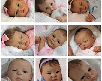Custom Reborn Baby Doll Order, You Choose Sculpt, Boy or Girl